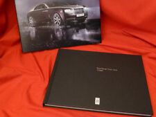 2014 Rolls-Royce Wraith Customer Hardcover Prospekt Brochure Buch Book - 2013