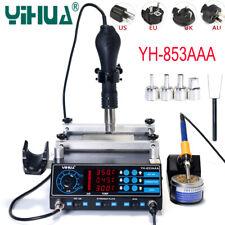 YH-853AAA 650W Soldering Station BGA Rework Soldering Iron Perheater Hot Air Gun