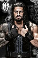 ROMAN REIGNS - WWE POSTER - 22x34 WRESTLING 14744