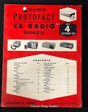 Sams Photofact / CB Radio, CB-4 / Heath, Lafayette, Raytheon, Sony, Triumph