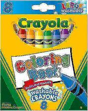 Crayola 52-3280 Washable Crayons - Box of 8