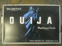 """Ouija Board Large Rare 22""""x15"""" William Fuld Mystifying Oracle Parker Brothers"""