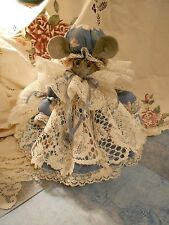 Country Mouse Air Freshner or Doorstop & Tissue Box - You provide the fabric