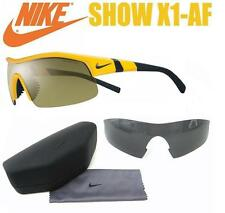 Nike Show X1 AF EV0644 703 Max Optics Men's Sport Sunglasses Extra Lens $238 NEW