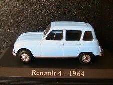 RENAULT 4 1964 SKY BLUE RBA COLLECTABLES 1/43 R4 BLEU CIEL BOITIER BLISTER
