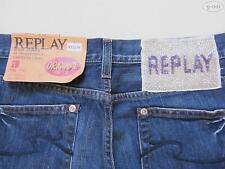 Replay WV 545 WV545 Damen Jeans Hose W 28 /L 32, NEU ! Straight Fit Denim, RAR !