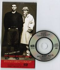 "PET SHOP BOYS So Hard /It Must Be Obvious JAPAN 3"" CD TODP-2203 Unsnapped FreeSH"