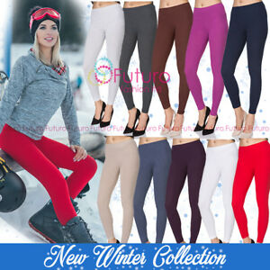 Premium Winter Leggings Full Length Extra Quality Warm with Fleece Laura LEGG01