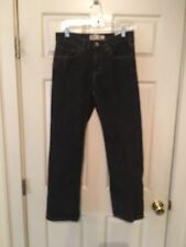 Mens 28/28 Levi's 550 Jeans Black Relaxed