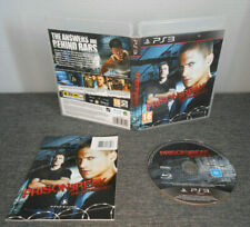 PRISON BREAK THE CONSPIRACY with Manual PS3 Playstation 3 VGC