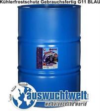 1x 200L Antifreeze Kühlerfrostschutz Gebrauchsfertig -38°C G11 BLAU Kühlerschutz
