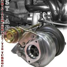 DIY JDM T25/T28 TURBO TURBOCHARGER+ INTERNAL WASTEGATE 7PSI 250+HP 5 BOLT FLANGE