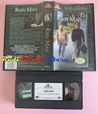 film VHS RAIN MAN Dustin Hoffman TOm Cruise MGM GREATS 2000 (F74*)  no dvd