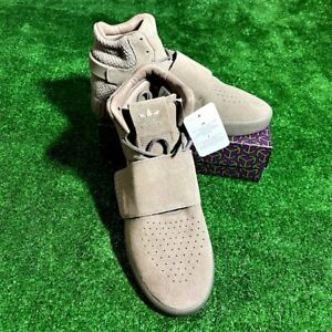 NEW Adidas Men's Tubular Invader Strap Mid Top Shoes Sneakers Boots Size 8 NEW