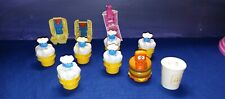 1990 McDino and Food Changeables & McDonald's Transformers Happy Meal Toys