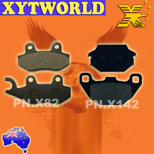 FRONT REAR Brake Pads for KYMCO Agility 200 i R16 2010-2012 2013 2014 2015 2016
