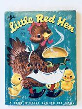 The Little Red Hen 1957 #8030 Rand Mcnally Van Tellingen Childrens Book