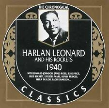HARLAN LEONARD - And His Rockets (33 RPM Vinsyl LP Mono RCA Record dated 1966 )