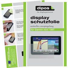 2x Garmin nüvi 150T Schutzfolie matt Displayschutzfolie Folie dipos Displayfolie