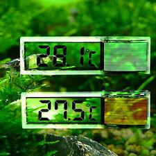 Cy_ 3D Lcd Digital Induction Aquarium Fish Tank Water Temperature Meter Thermome