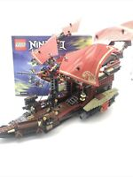 Lego Ninjago 70738 Final Flight Of Destiny's Bounty Ship with Manual incompl