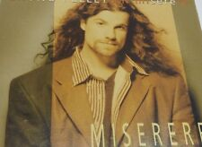 BRUNO PELLETIER Tape Cassette MISERERE 1997 Artist Records Canada AR-4-116
