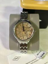 BQ3289 FOSSIL SILVER TONE LADIES WATCH