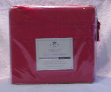 CLARA CLARK SUPREME 1500 COLLECTION DELUXE SHEET SET - KING - HOT PINK - NEW