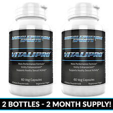 #1 Vitalipro 1HR Male Enhancement pills, Testosterone Booster, Male Performance