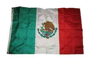4x6 Embroidered Sewn Mexico Mexican 300D Nylon Flag 4'x6' Heavy Duty