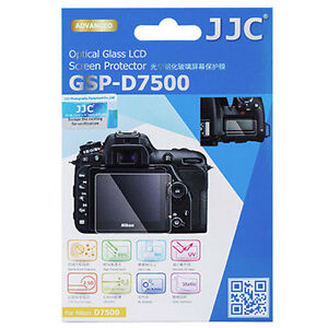 JJC GSP-D7500 Optical GLASS LCD Screen Protector Film for Nikon D7500 Ultra-thin
