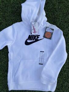 "New Nike x Air Force 1 x Individuality Hoodie Boys M Unisex 17"" Armpit & 23"" Len"