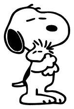 Peanuts Snoopy & Woodstock Adesivo decalcomania in vinile ABBRACCIO