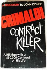 Crimaldi: Contract Killer-VG-First Edition-w/DJ-0874912067-Acropolis-John Kidner