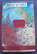 livre Jules Verne le tour du monde en quatre vingt jours 1975