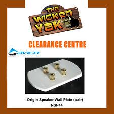 Origin Custom Speaker Wall Plate Connect a Pair of Speakers NSP44 - NEW!