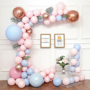 Gender Reveal Baby Shower Balloon Arch Decoration Kit - 100+ Balloons