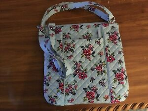 Vera Bradley Iconic Hipster floral print new w/tags