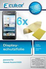 6x Huawei Ascend G525 Film de protection d'écran protecteur cristal clair