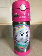 Thermos Funtainer 12 oz Bottle, Paw Patrol Everest/Sky New!!