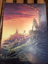Star Wars The Last Jedi IMAX Original UK Promo Poster 2 - Exclusive One Week Run