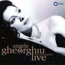 ANGELA GHEORGHIU-LIVE COVENT GARDEN-GHEORGHIU/ROHO/MARIN/BELLINI UVM. CD NEU