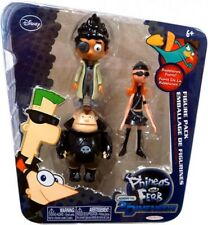 Phineas and Ferb Across the 2nd Dimension Resistance Team Action Figure 3-Pack