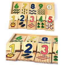 Preschool Learning Digital Shape Pairing Montessori Math Toys Counting Board