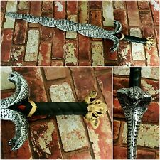 Serpent Snake Foam Sword CosPlay Stage Medieval Wizard Witch Ritual Wand LARP