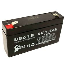 DUKANE MASTER CLOCK Battery UB613 6V 1.3Ah Sealed Lead Acid SLA AGM