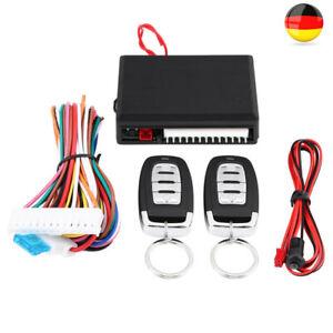 Universal Auto Funkfernbedienung Keyless Entry Zentralverriegelung 2 Funksender