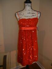 PATRIZIA PEPE WOMENS ABITO DRESS RED TULIP Size S
