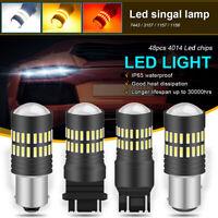 48 SMD 4014 LED Car Turn Signal Reverse Back Light Bulb 12V 1156 BA15S 382 P21W