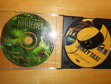 Sega Dreamcast Set of 2 Games 2 CDs Soul Reaver & Crazy Taxi No Books No Cases